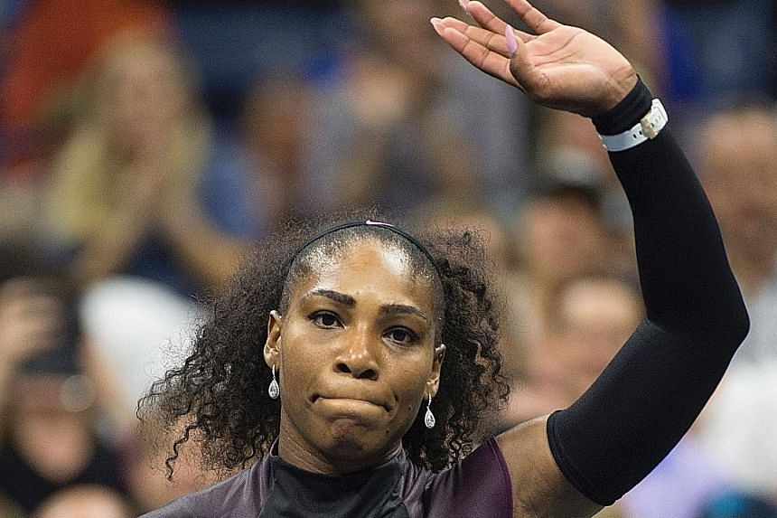 Serena Williams has not played a competitive match since losing her US Open semi-final to Karolina Pliskova on Sept 8.