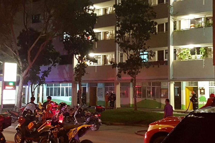A fire broke out at PAP Community Foundation kindergarten at Block 519, Bedok North Ave 1 on Tuesday (Oct 18) evening.