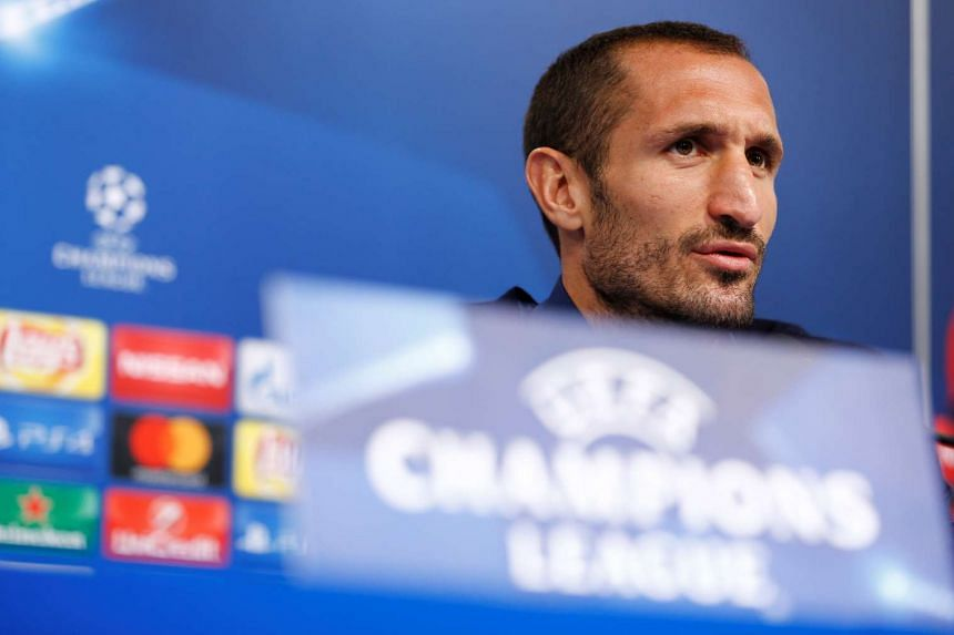 Juventus will play without defender Giorgio Chiellini and striker Mario Mandzukic when they face Olympique Lyonnais in Champions League Group H on Tuesday.