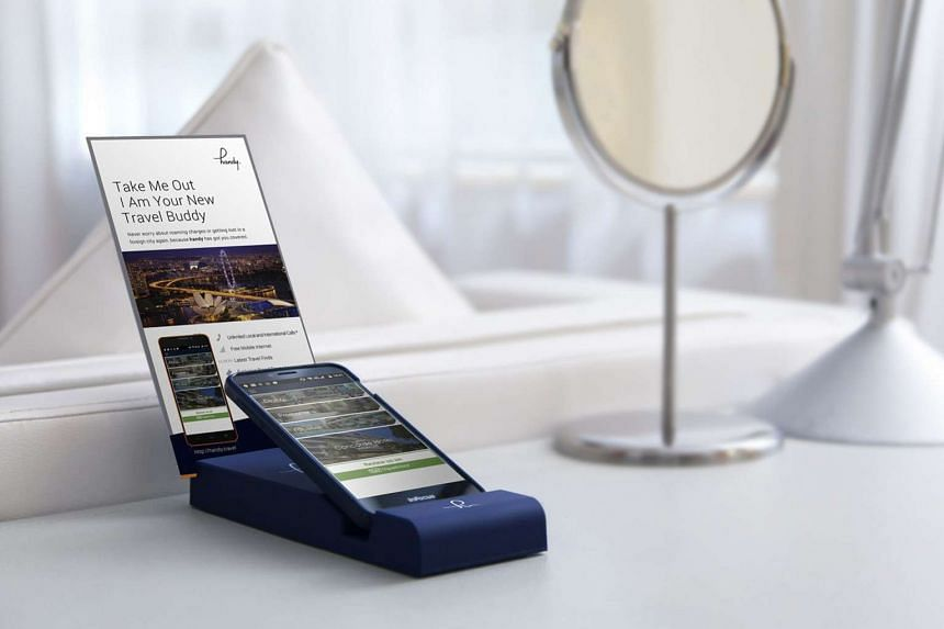 Handy loan smartphones are available for free for guests at partner hotels such as The Ritz-Carlton. The smartphone loan service, which has a counter in Orchard Road, will be beefed up to include new features.