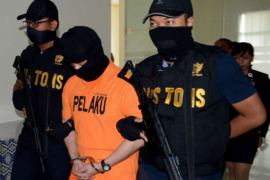 Singaporean national Desmond Goh Thiam Ann who was arrested for having drugs in his possession in Bali.