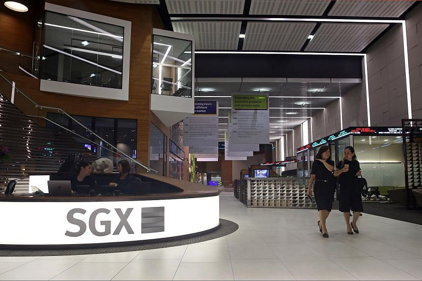 SGX reported a net profit of S$83.1 million for the three months to Sep 30, down 16 per cent from a year ago.