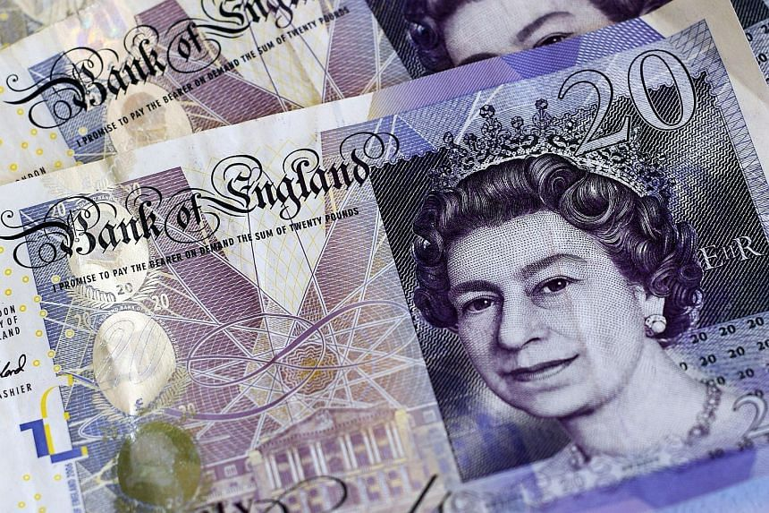 The pound rose 0.2 per cent to US$1.2319 on Wednesday (Oct 19) morning.
