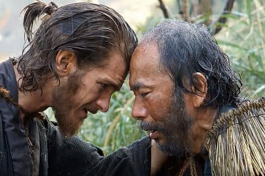 Silence, about the persecution of Christians in 17th-century Japan, stars Andrew Garfield and Shinya Tsukamoto.