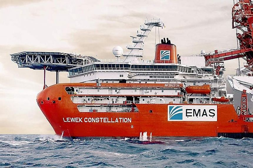 Heavily leveraged Ezra is associate firm Perisai's single largest shareholder, with a 20.6 per cent stake through Emas Offshore and another unit.