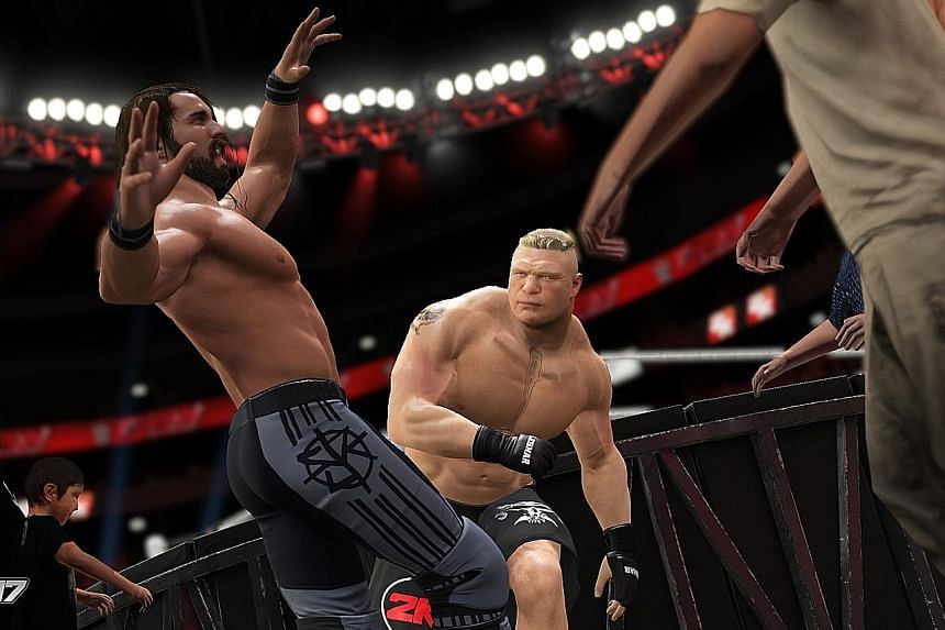 This year's release of WWE 2K17 caters to both the seasoned followers and new converts.