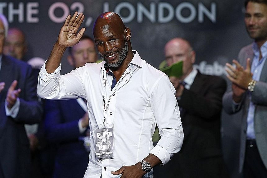 Bernard Hopkins, 51, wants to retire a boxing legend. His swansong in December is against fellow American Joe Smith, 27.