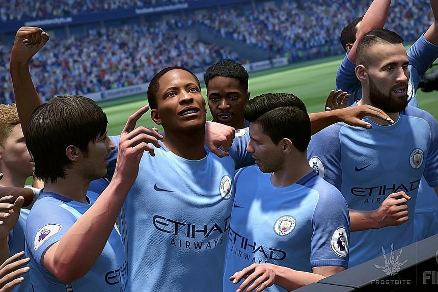 Playing as Liverpool in PES 2017 is like watching the present team in action. Fifa 17 has the right goal celebrations for individual players.