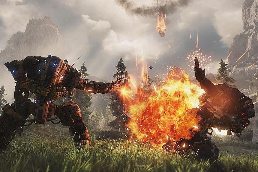 Titanfall 2 is among the games that are being released soon.