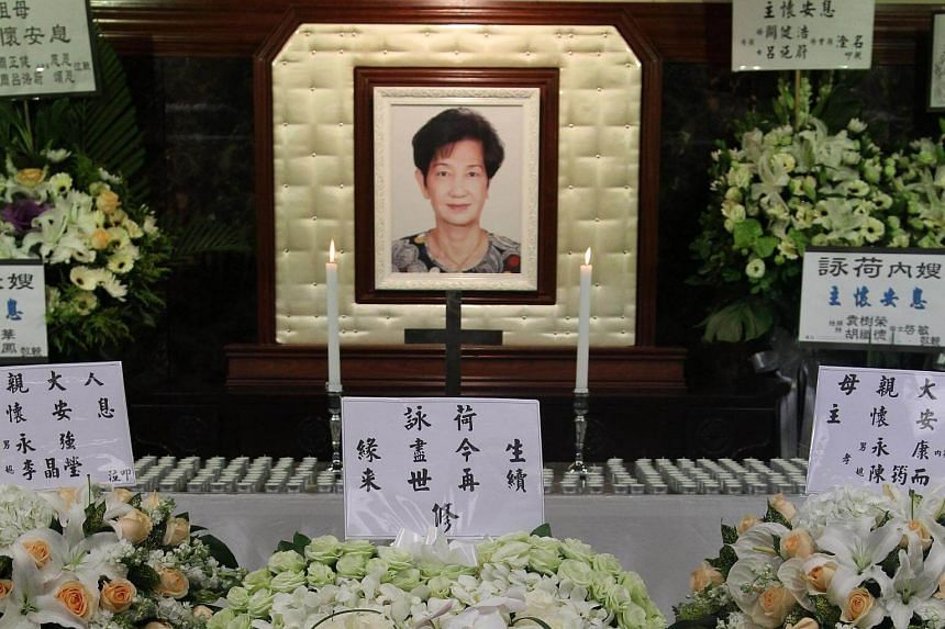 """Woo Fung's card for his wife read: """"Our love has ended in this life, may it continue in the afterlife""""."""