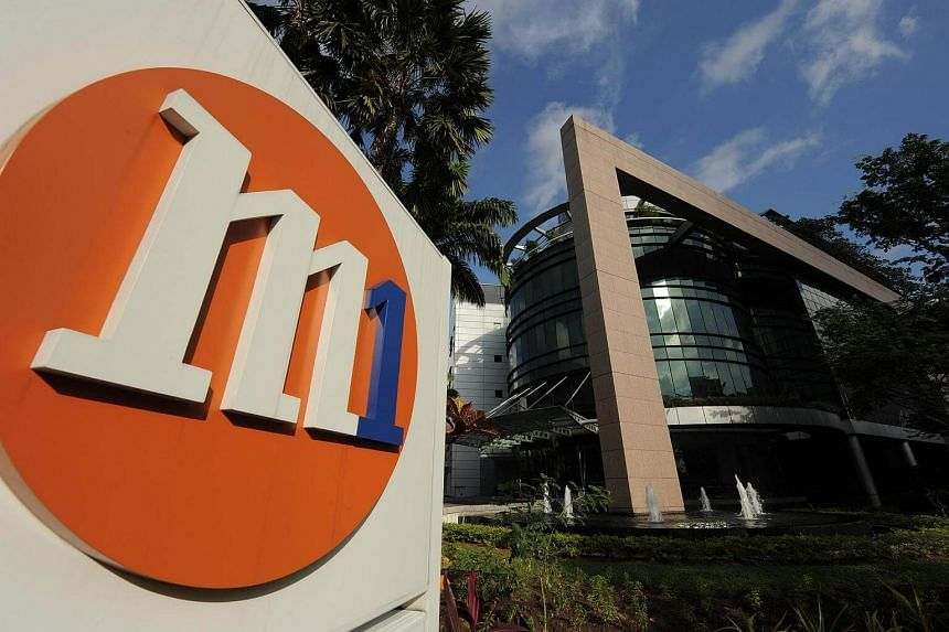 M1's net profit for the three months to Sept 30 fell 23.4 per cent from the same period a year ago to $34.4 million, while operating revenue slid 10.3 per cent to $249.1 million.