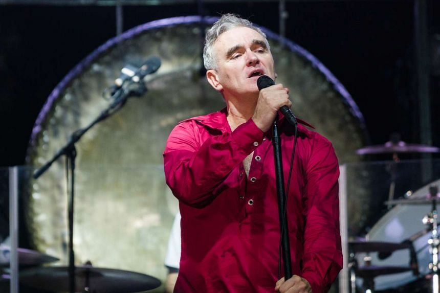 Morrissey's velvety vocals entertained the crowd during his 90-minute set.