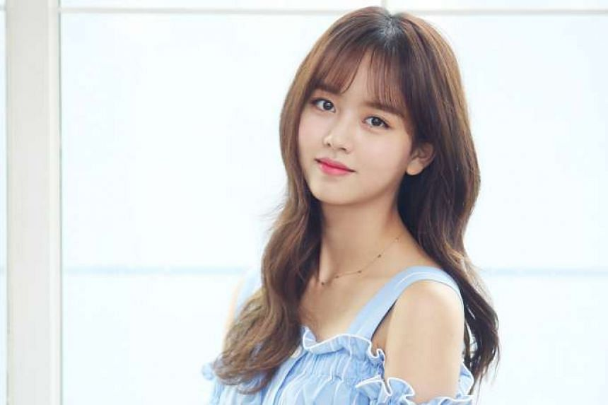 Actress Kim So Hyun has been acting since she was seven.