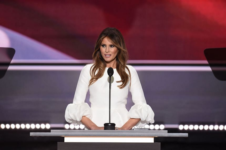 Mrs Melania Trump had been largely absent from the campaign trail since her speech at the Republican National Convention.