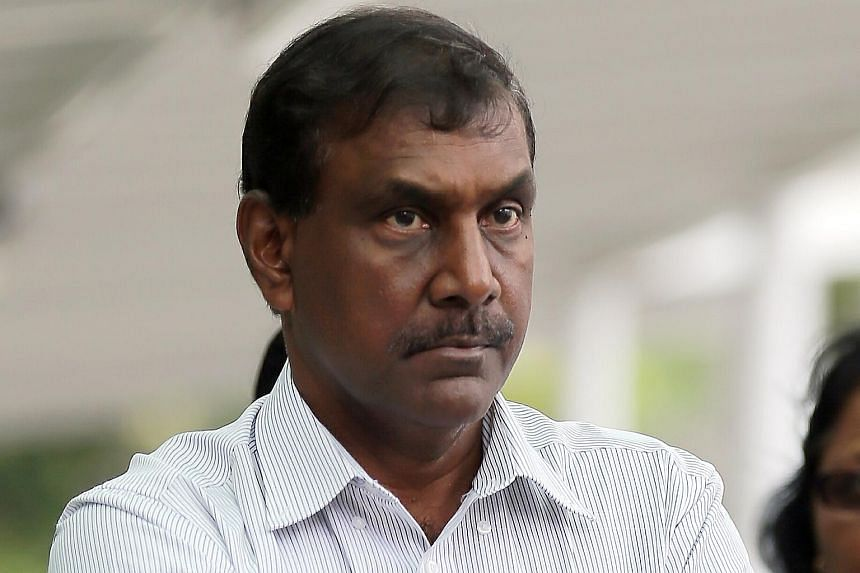 Mr Jeganathan Ramasamy (seen here in 2015) was acquitted of the charges of misappropriating two iPads.