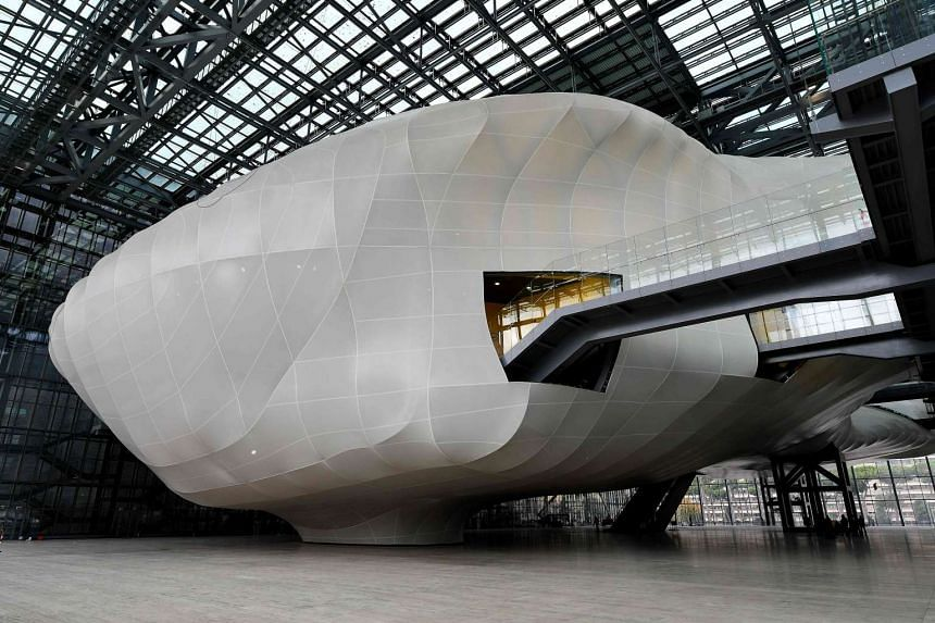 Rome's new convention centre designed by Italian architect Massimiliano Fuksas.