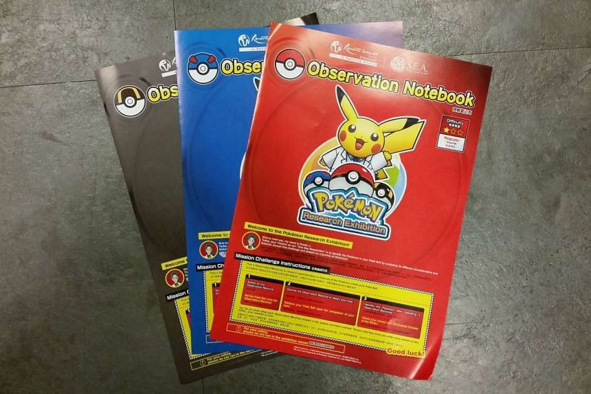 The observation notebooks for different difficulty levels.