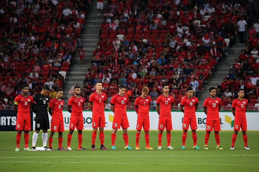 The Singapore Lions have fallen to an all-time low world ranking of 171 in the latest table published by Fifa.