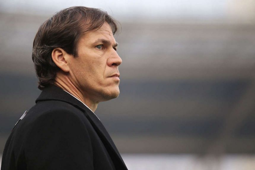 Rudi Garcia (above) has been appointed as Marseille's new coach under a three-year contract.