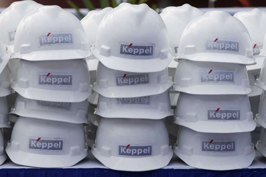 Keppel Corp's third-quarter earnings have fallen by 38.1 per cent.