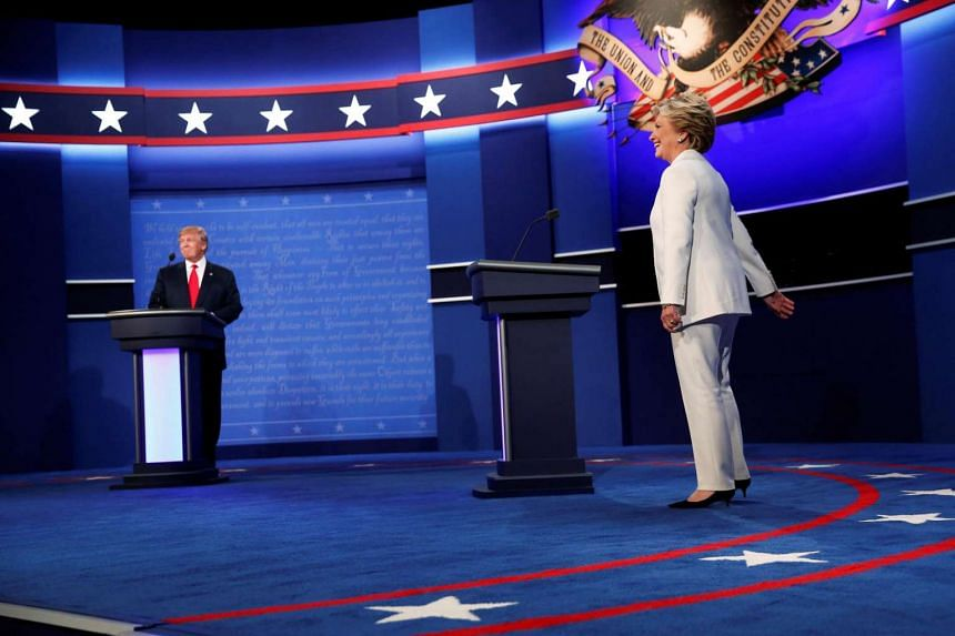 A final debate between Democrat Hillary Clinton and Republican Donald Trump on Thursday (Oct 20, Singapore time) saw both presidential candidates debate on the following issues: debt and entitlements, immigration, the economy, the Supreme Court, fore