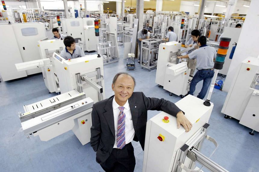 Yong Choon, CEO of Nutek, a Printed Circuit Board (PCB) Handling Equipment company that won 3 SME Growth Excellence awards.