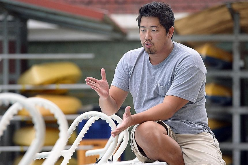 Assistant national head coach Gary Tan says the Singapore leg of the World Cup will give his swimmers a chance to compete at a high level.