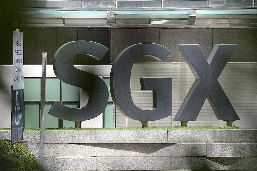 The Q1 results reflected lower levels of market activities, SGX chief executive Loh Boon Chye said.