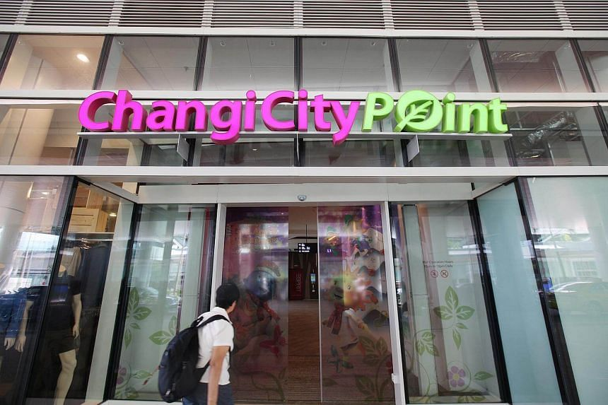 Changi City Point, a shopping centre in Changi Business Park located opposite the Singapore Expo MRT station.