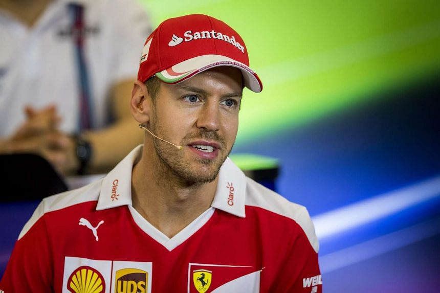 German Formula One driver Sebastian Vettel during the joint press conference at the Circuit of the Americas, in Austin, Texas on Oct 20, 2016.