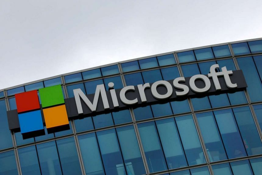Microsoft's stock surged 5.6 per cent at an all-time high of US$60.45 (S$83.9).