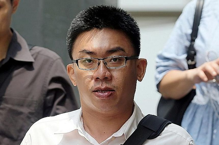 Chia bore a 10-year grudge against NEA officers over a fine, and set up a Facebook page targeting them.