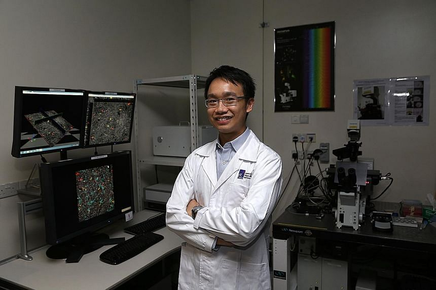 Dr Lim is a principal investigator at the Institute of Medical Biology. He is trying to develop skin cultures that are more like real skin than those currently used for skin grafts.