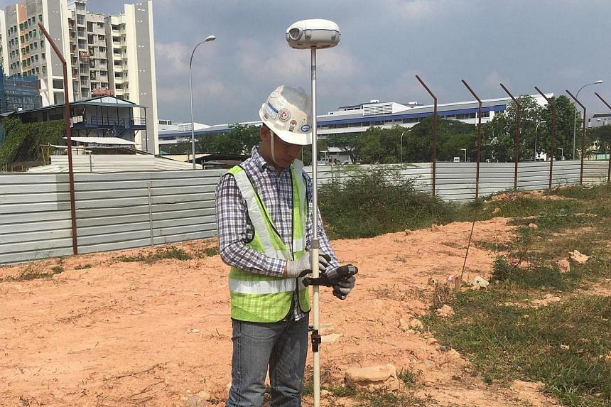 SC Ang Consortium's global navigation satellite system for piling.