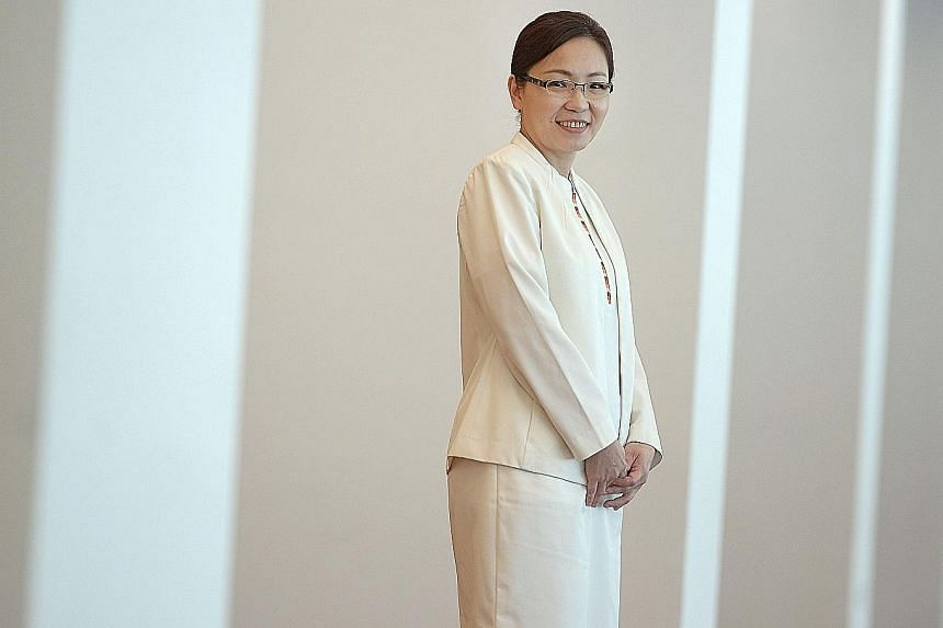Ms Ang, an advanced practice nurse at Tampines Polyclinic, helps people with chronic conditions stay healthy.