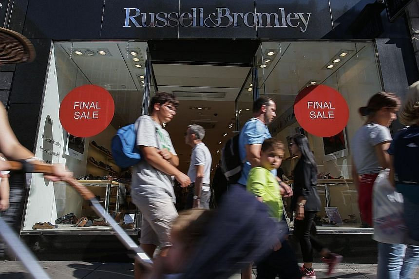 Consumer sentiment in Britain has remained firm since the nation voted in June to leave the European Union, although demand for clothing and footwear in the third quarter was dented by higher prices and unusually warm weather.