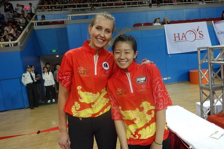 National kegler Bernice Lim finished third at the QubicaAMF Bowling World Cup in Shanghai on Saturday (Oct 22).