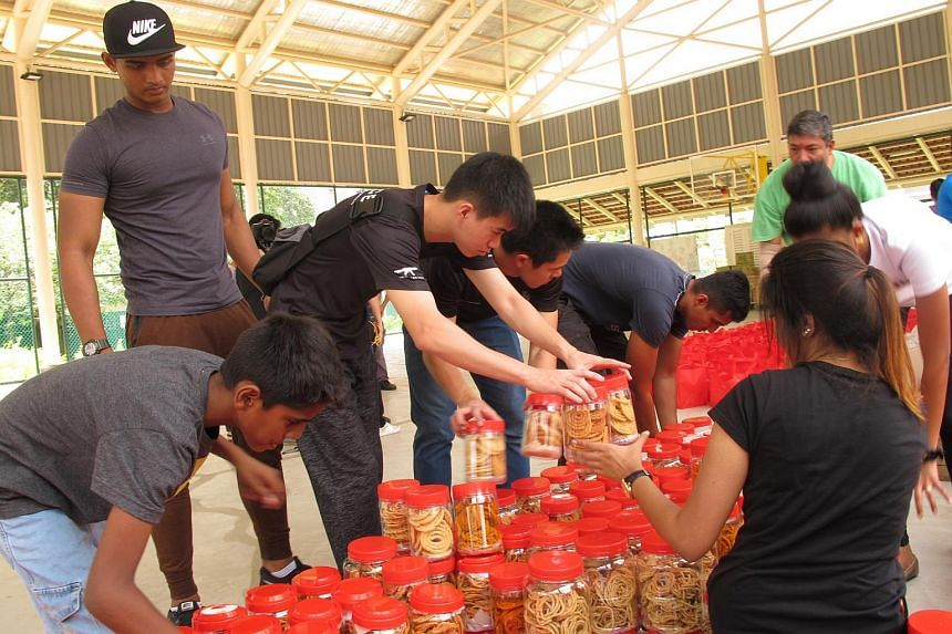 Beneficiaries received festive packs filled with Deepavali goodies as part of the annual effort Lighting Hearts, Lighting Homes.