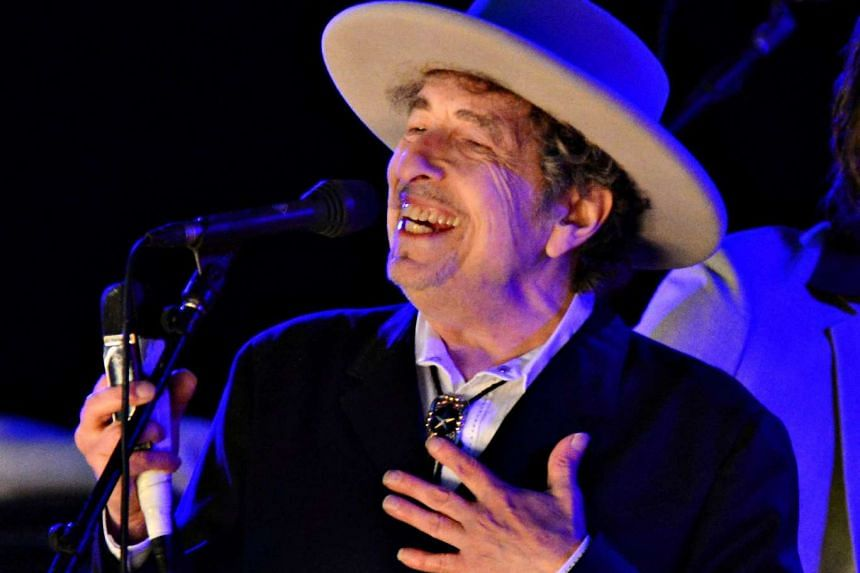 Bob Dylan performs during day 2 of The Hop Festival in Paddock Wood, Kent on June 30, 2012.