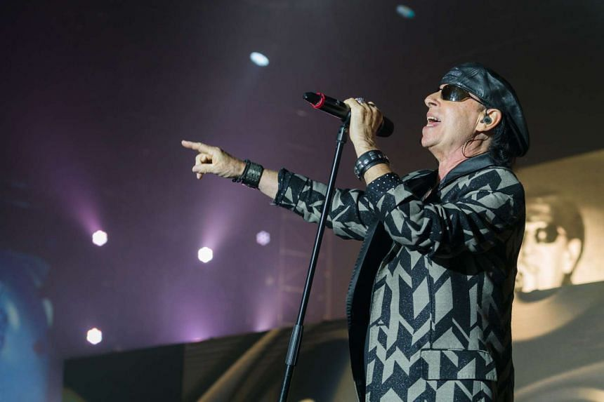 Veteran rockers Scorpions' energetic 50th anniversary tour performance in Singapore on Friday (Oct 21) was a classic rock showcase that would put many younger rock bands to shame.