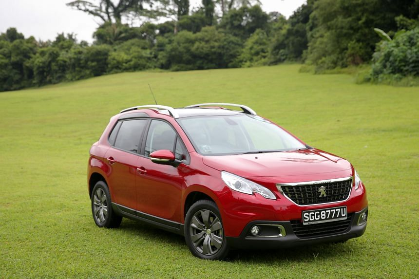 The Peugeot 2008 1.2 PureTech offers a plush ride despite it being a small car.