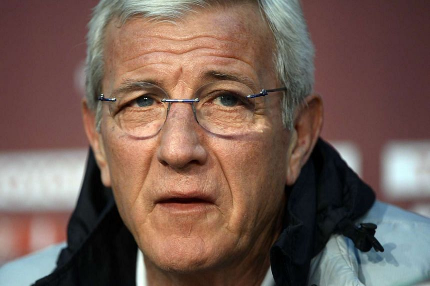 China's national football coach Marcello Lippi (seen here in 2013) was hired to help the country qualify for the 2018 World Cup.
