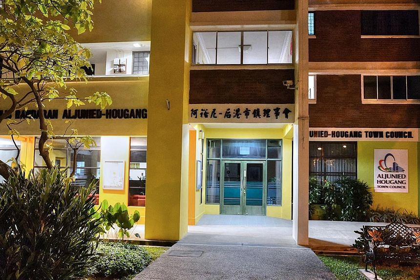 Aljunied Hougang Town Council had appointed accounting firm KPMG to look into its books after the Auditor- General's Office found significant governance lapses in a special audit last year.