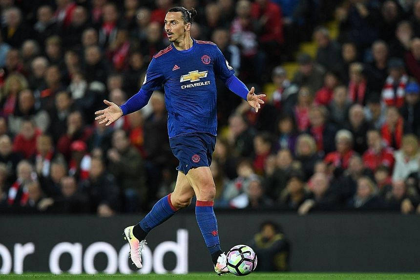 Manchester United striker Zlatan Ibrahimovic has not scored in his last four league matches but is likely to get his chance after being rested in the Europa League game against Fenerbahce on Thursday.