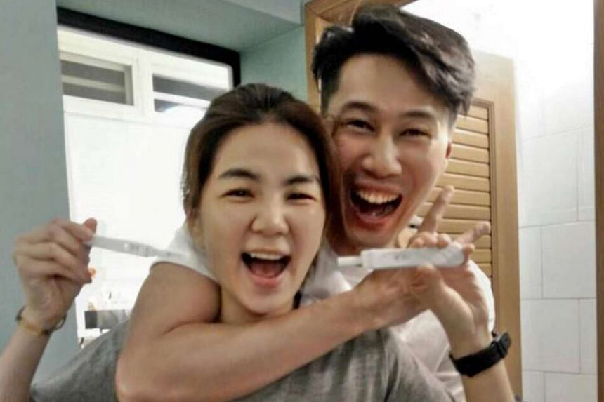 Ella Chen announced her pregnancy on Facebook and Weibo on Saturday (Oct 22).
