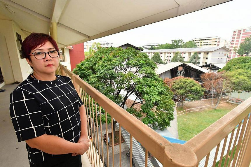 Madam Haw Mui Eng, 47, who started 493 Fishball Noodles with her husband in 2006, is worried that her family's savings will be wiped out soon.