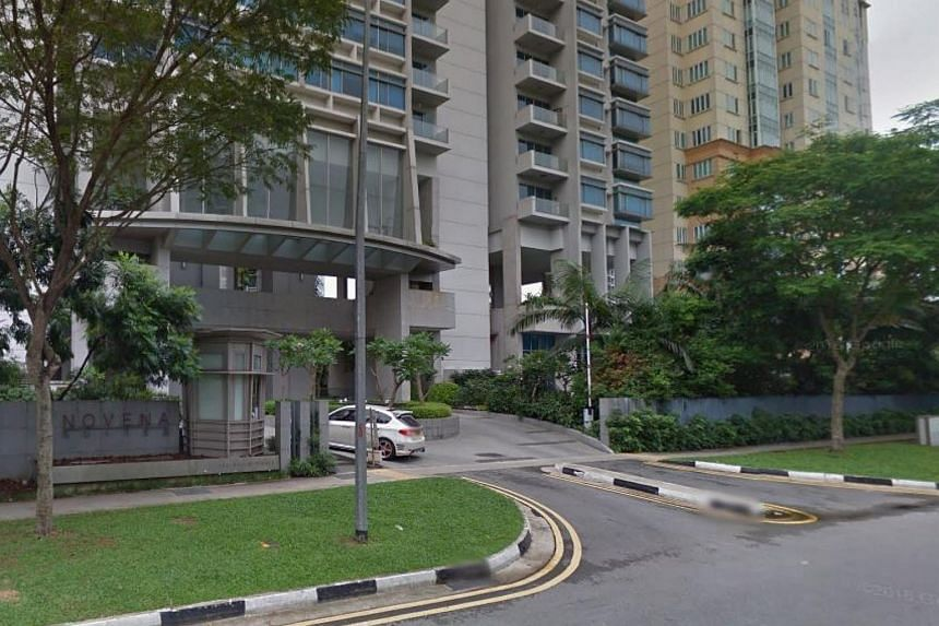 The man was found dead at the foot of a block at the condominium, while the woman was discovered motionless in a bedroom of a 13th floor unit. They were believed to have been married but separated.