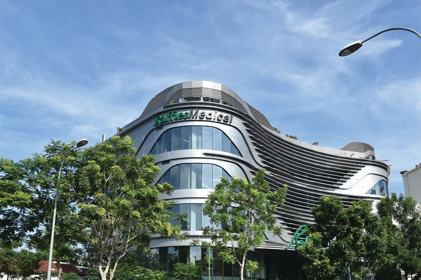 Raffles Medical's new medical centre in Holland Village, which officially opened on Oct 21.