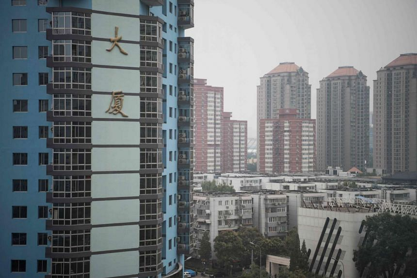 The residential luxury homes of Guangcai in Beijing's Chaoyang district on Sept 29, 2016.