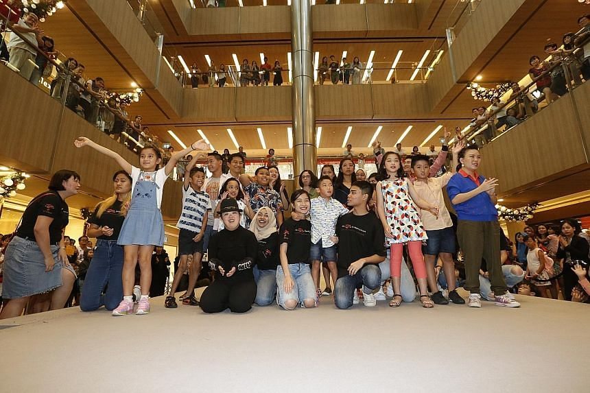 Fourteen members of the special needs community glammed up for a catwalk show at Paragon mall yesterday, accompanied by music from local pianist Azariah Tan, who is hearing-impaired. It was part of SJ50, which celebrates inclusivity and 50 years of d